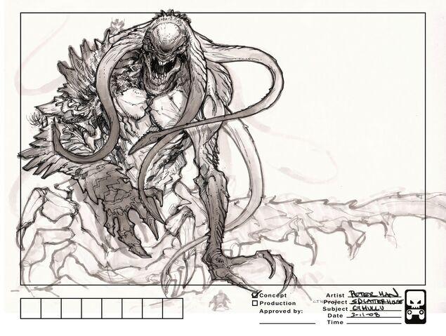 File:Lake Monster Concept Art 02 (New Splatterhouse 2).jpg