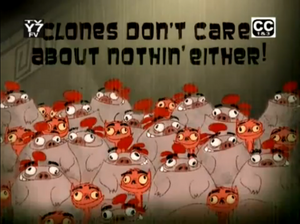 Clones dont care about nothing either-episode