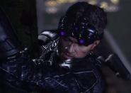 Sam purple goggles