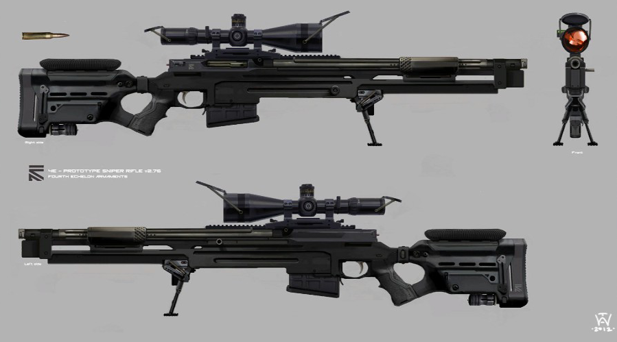 More Popular Weapon Designs: More Ergonomic, More ...