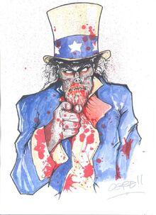 Uncle sam zombie by aubrey ogre-d3221fi