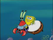 Mr. Krabs in The Sponge Who Could Fly-11