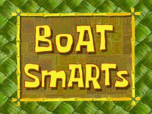 Image result for boat smarts spongebob