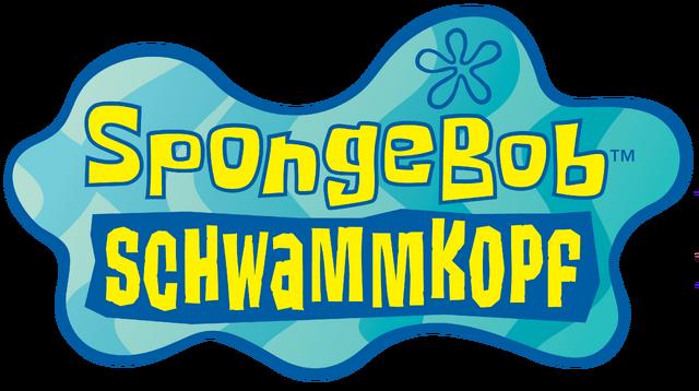 File:SpongeBob Schwammkopf old logo.png