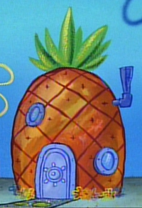 SpongeBob's pineapple house in Season 1-2