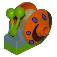 Old Lego Gary orange shell