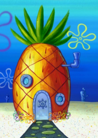 SpongeBob's pineapple house in Season 6-4
