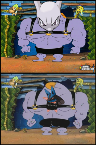 File:This Legendary who's carrying the real competetor, Lucario!.png