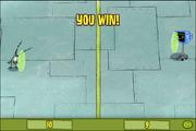 Plankton Pong You Win