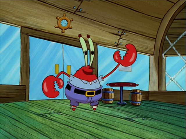 File:Mr. Krabs with Bandaged Legs.png