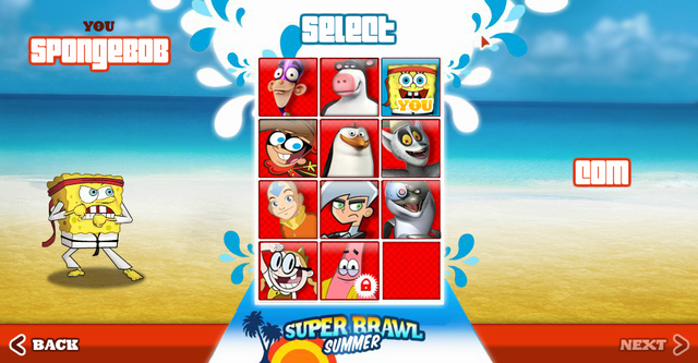 File:Super Brawl Summer characters.png