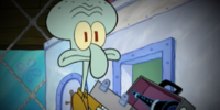 Krusty Krab Employee Hat/gallery/Squidward's Back