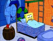 Operation Krabby Patty alarm clock
