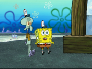 Squidward in Penny Foolish-10