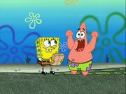 Waiting Spongebob and Patrick
