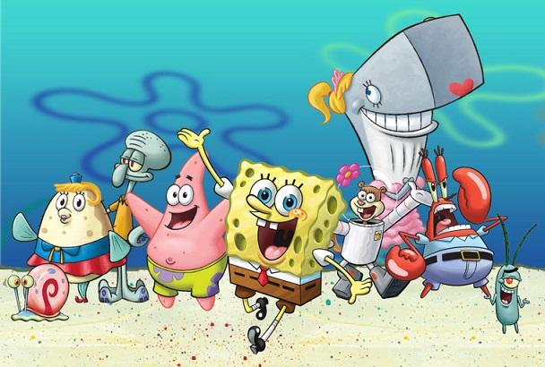 File:SpongeBob SquarePants characters cast.png