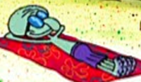 Squidward Tanning