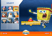Super Brawl SpongeBob