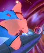 3D Starfish Man On 1 Rocket4