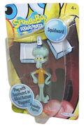 Posable Squidward figure