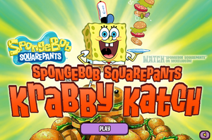 Krabby Katch old title screen