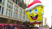 Santa hat SpongeBob Macy's