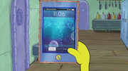 SpongeBob Checks His Snapper Chat 02