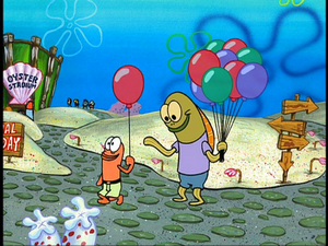 Jimmy Gus and Monroe Timmy With Balloons