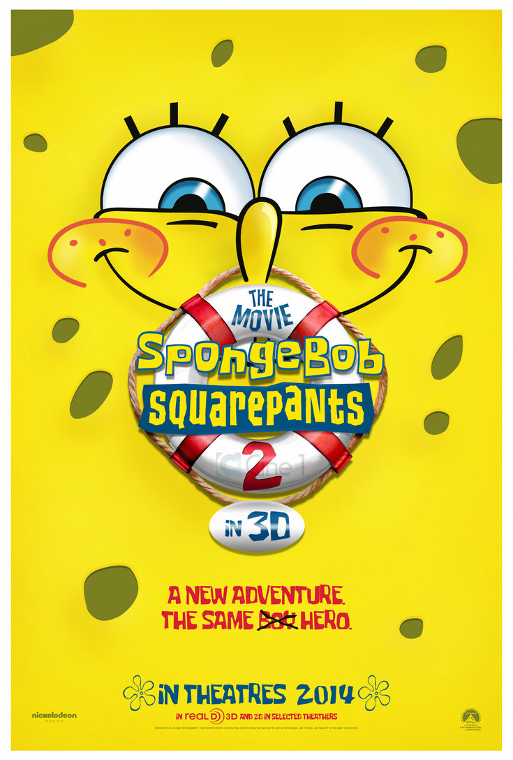 image spongebob squarepants the movie 2 teaser poster by