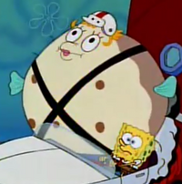 Mrs Puff inflated 1