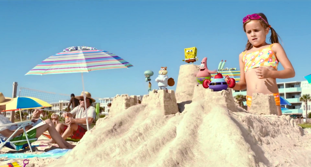 File:SpongeBob And Friends On The Beach.png