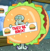 Krabby Patty Squiddy