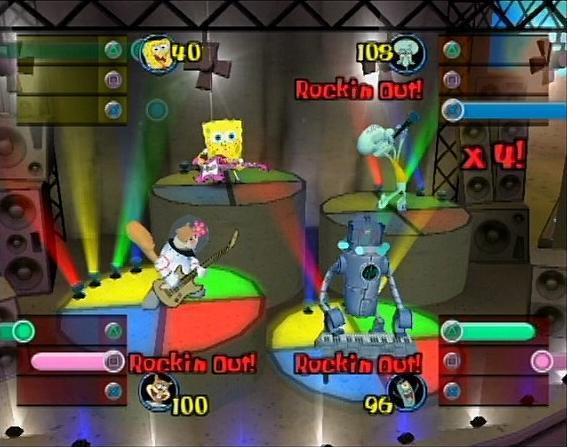 File:3d Spongebob, 3d Squidward, 3d Sandy, & 3d Sheldon3.jpg