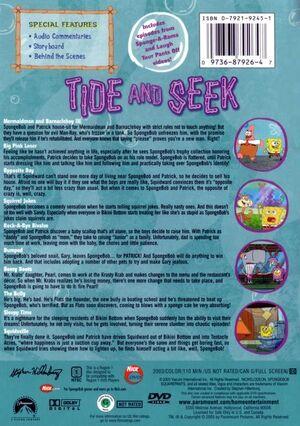 Tide and Seek DVD Back Cover