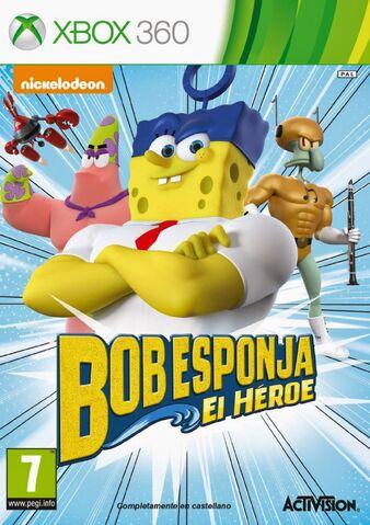 File:Bob Esponja El Heroe ESPAÑOL XBOX 360.jpg