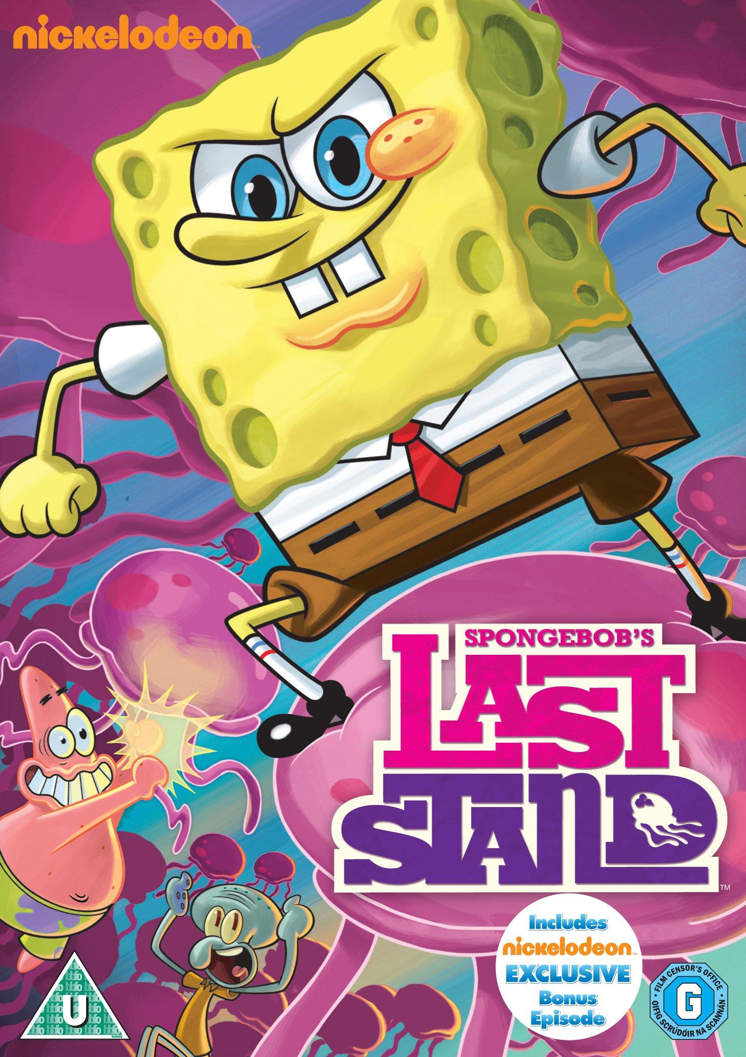 SpongeBob's Last Stand (DVD) | Encyclopedia SpongeBobia ...