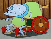Old Man Jenkins Wheelchair