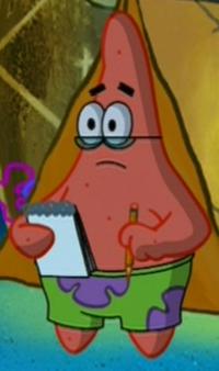 Patrick Wearing Glasses