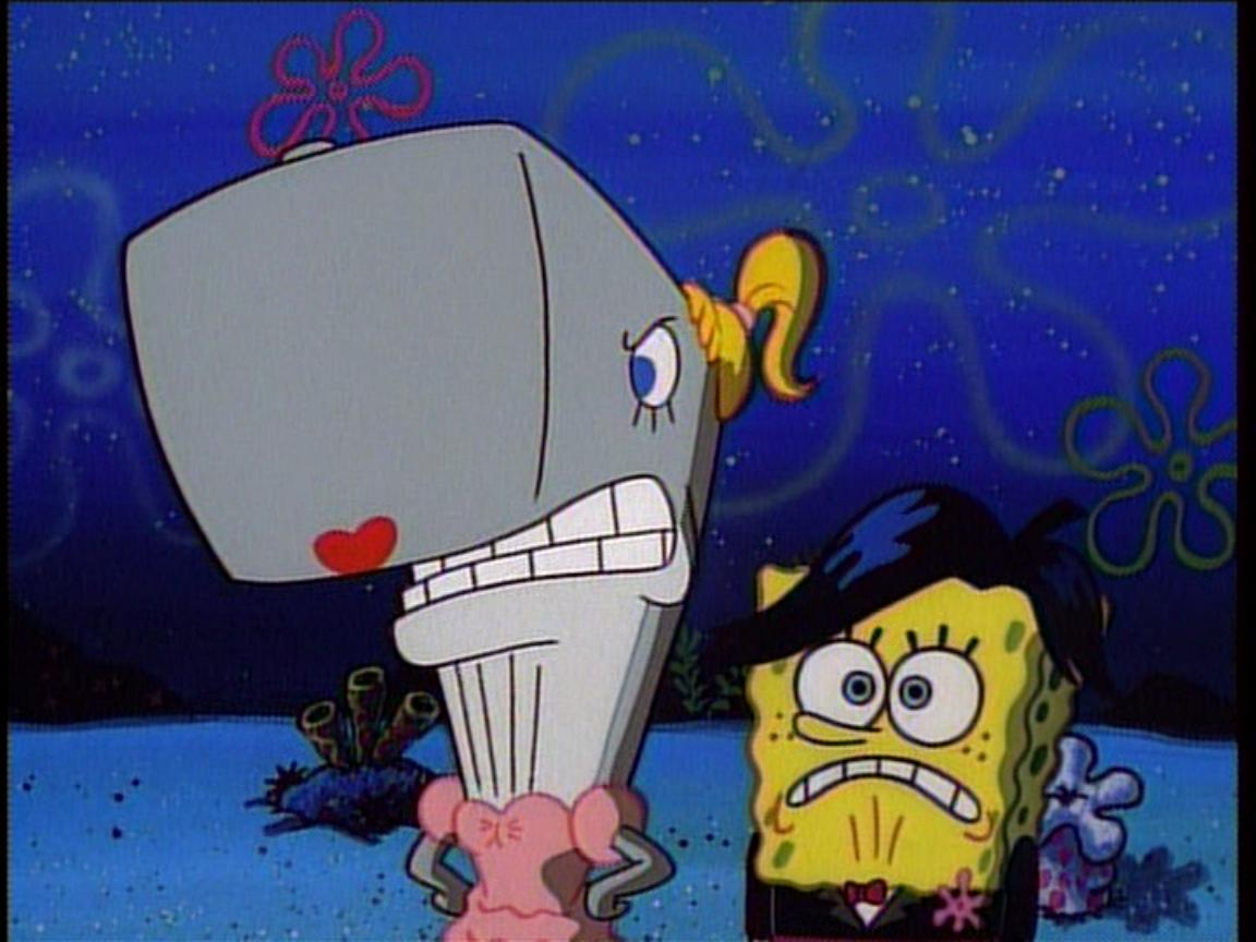 image pearl u0026 spongebob2 jpg encyclopedia spongebobia fandom