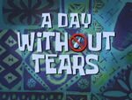 A Day Without Tears