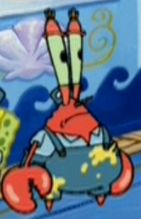 Mr. Krabs as a Painter