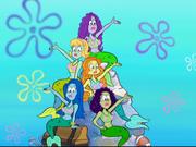 Mermaids from Welcome to the Bikini Bottom Triangle