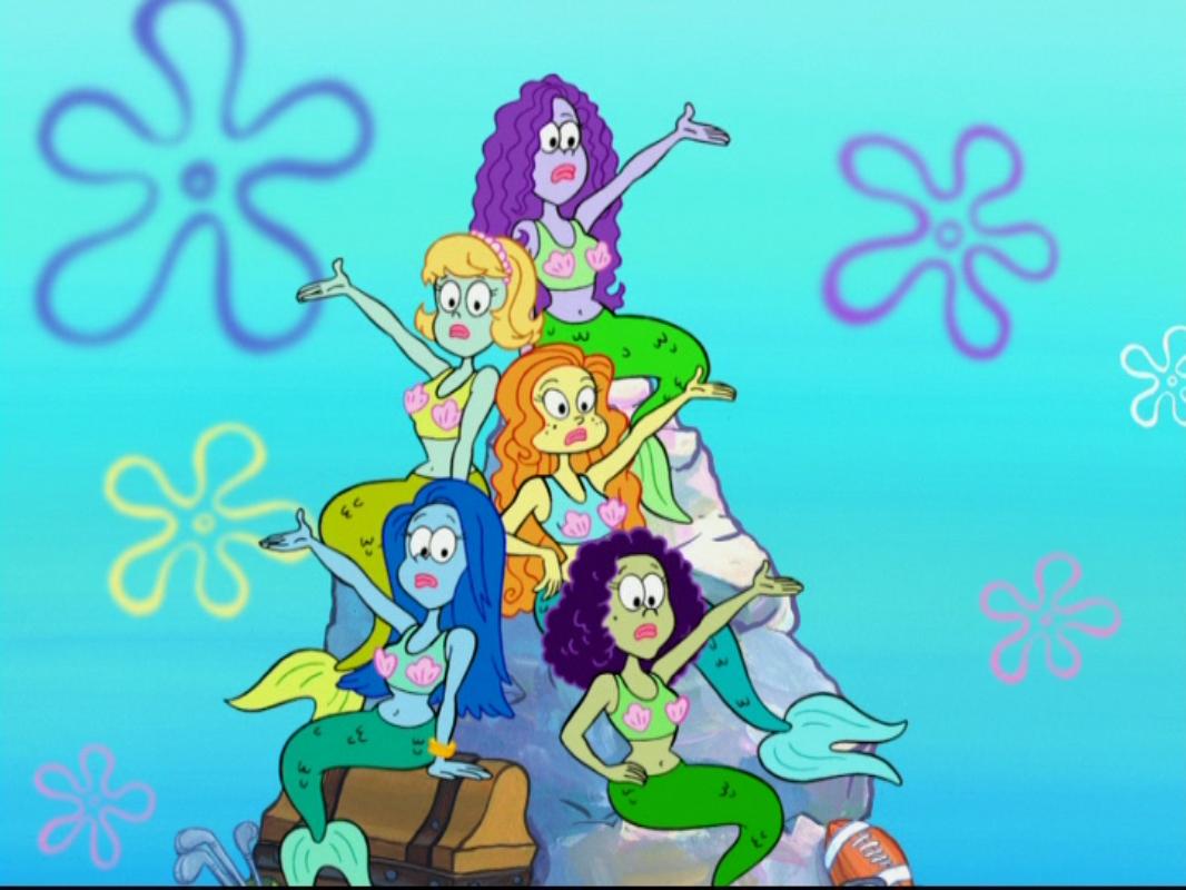 mermaids encyclopedia spongebobia fandom powered by wikia