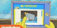 SpongeBob Checks His Instaclam