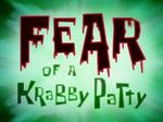 Fear of a Krabby Patty - Title Card