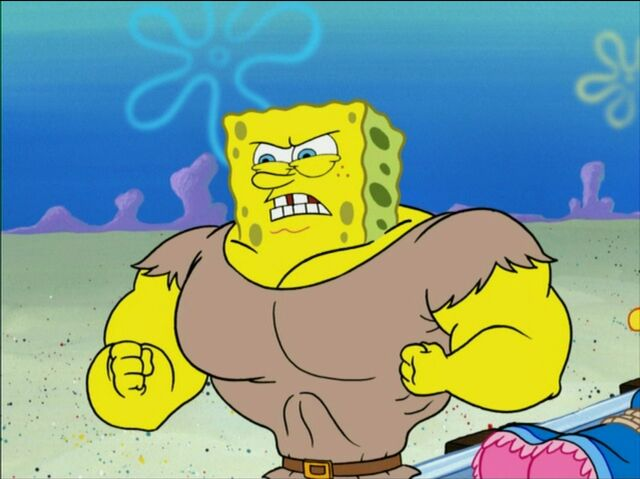File:Muscular SpongeBob.jpg