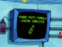 SpongeBob SquarePants Karen the Computer Formula-3