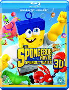 The SpongeBob Movie - Sponge Out of Water UK 3D Blu-ray