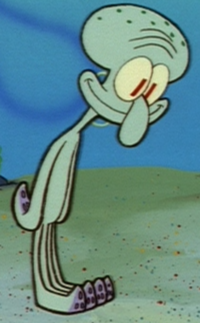 Naked Squidward