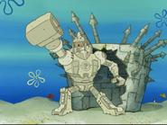 Patrick's Sand Robot